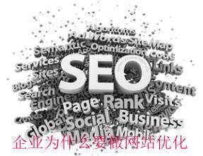 企业为什么要做网站优化